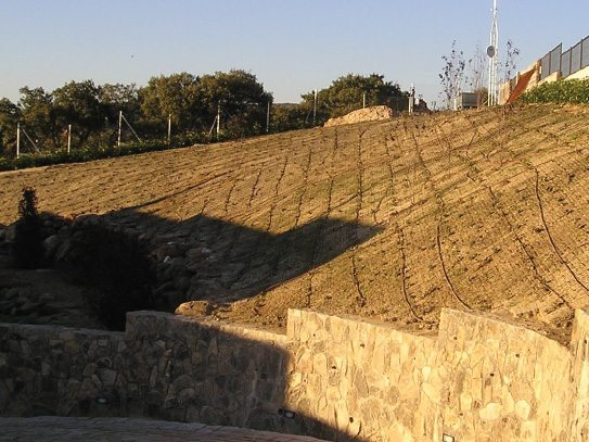 Slope retention after