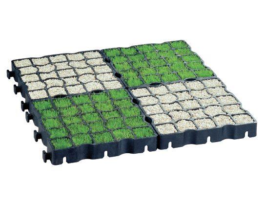 Grass or gravel fill