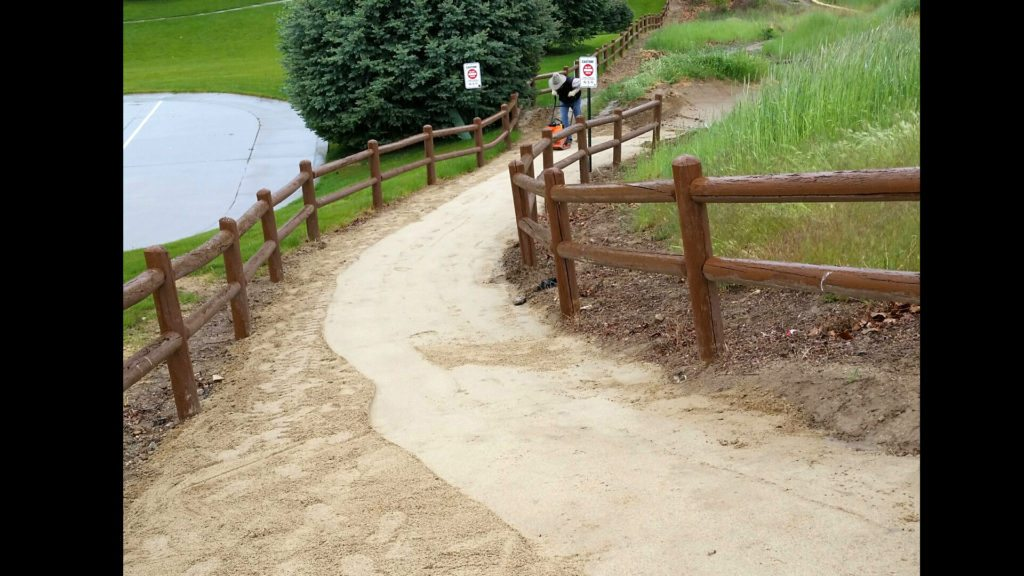 Eagle Idaho trail project